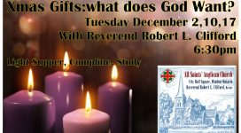 Poster of Advent Study
