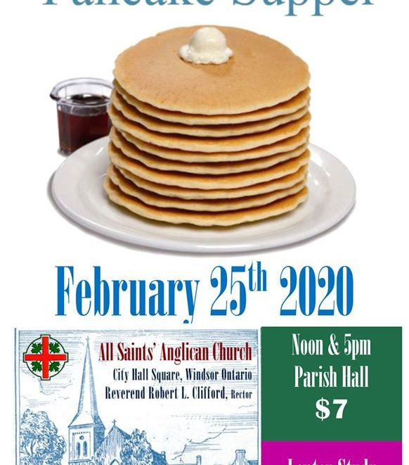 Shrove Tuesday poster