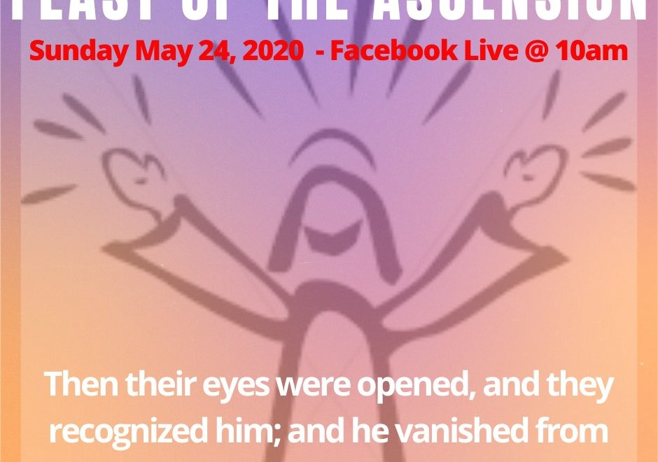 May 24 graphic about Ascension of Jesus
