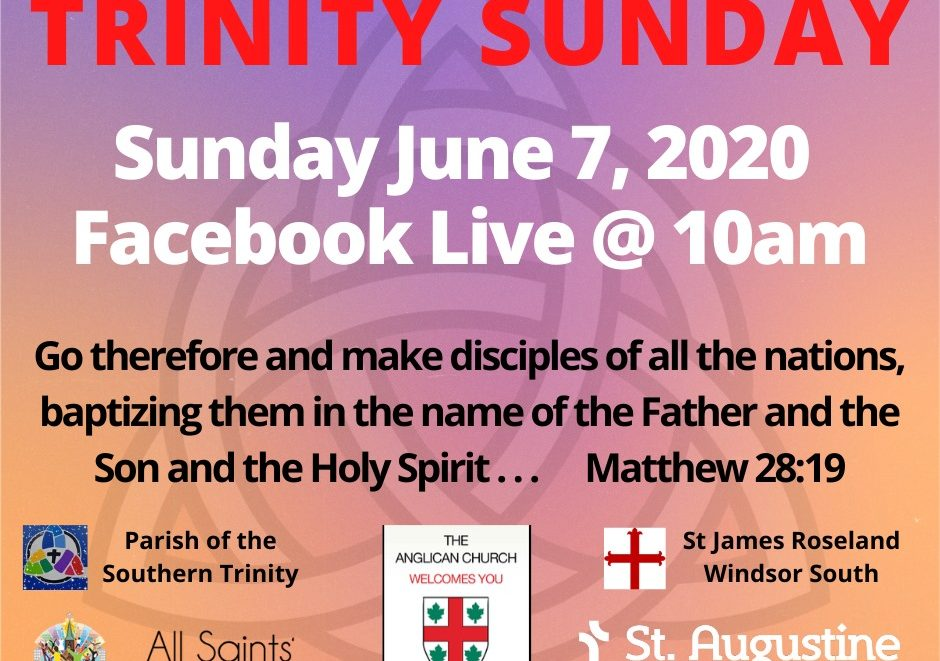 Graphic for Trinity Sunday